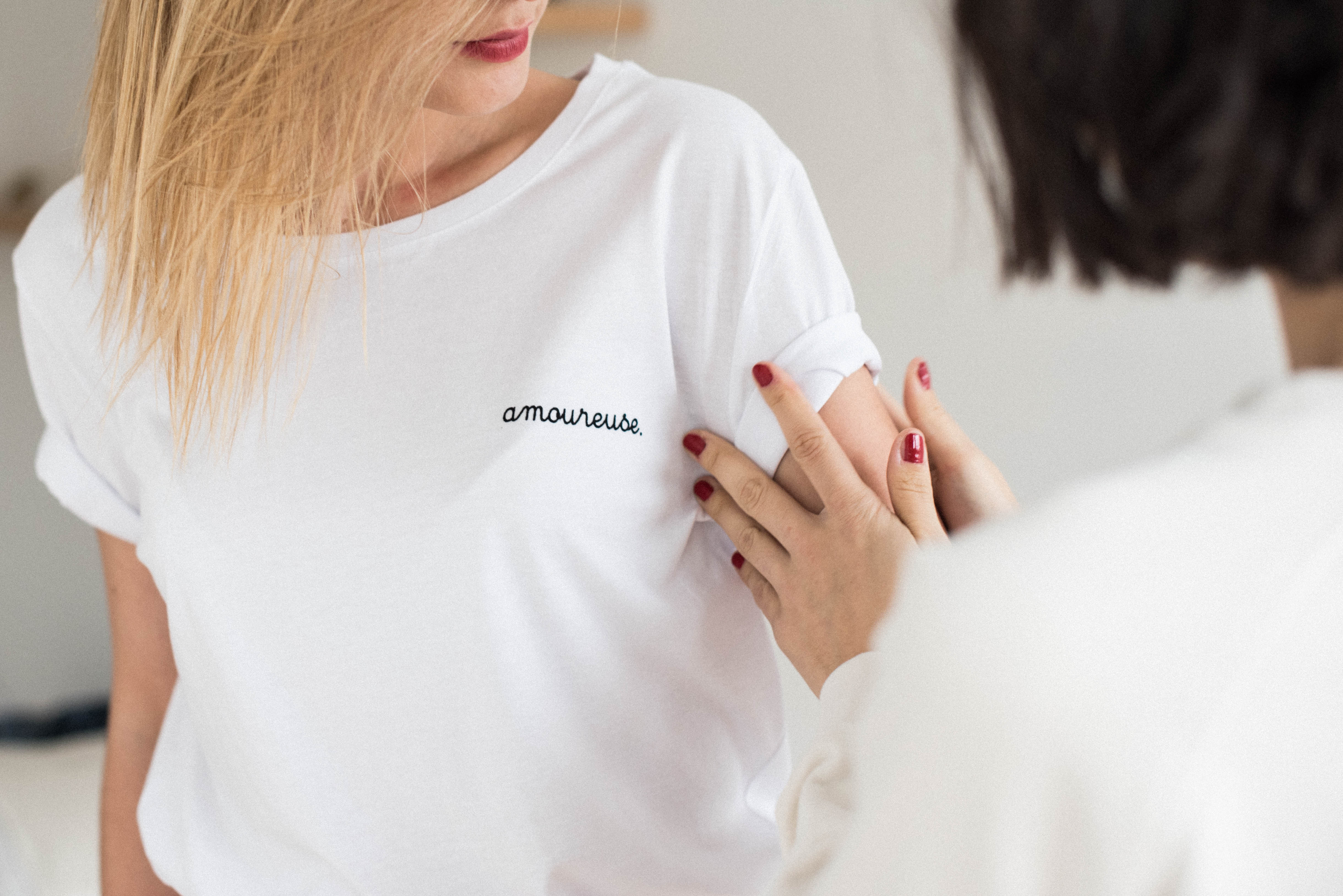 "T-shirt Buttee ""amoureuse"""
