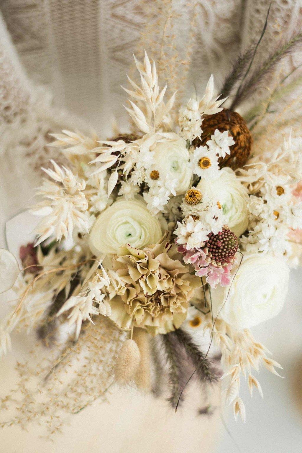 Bouquet de fleurs atelier prairies